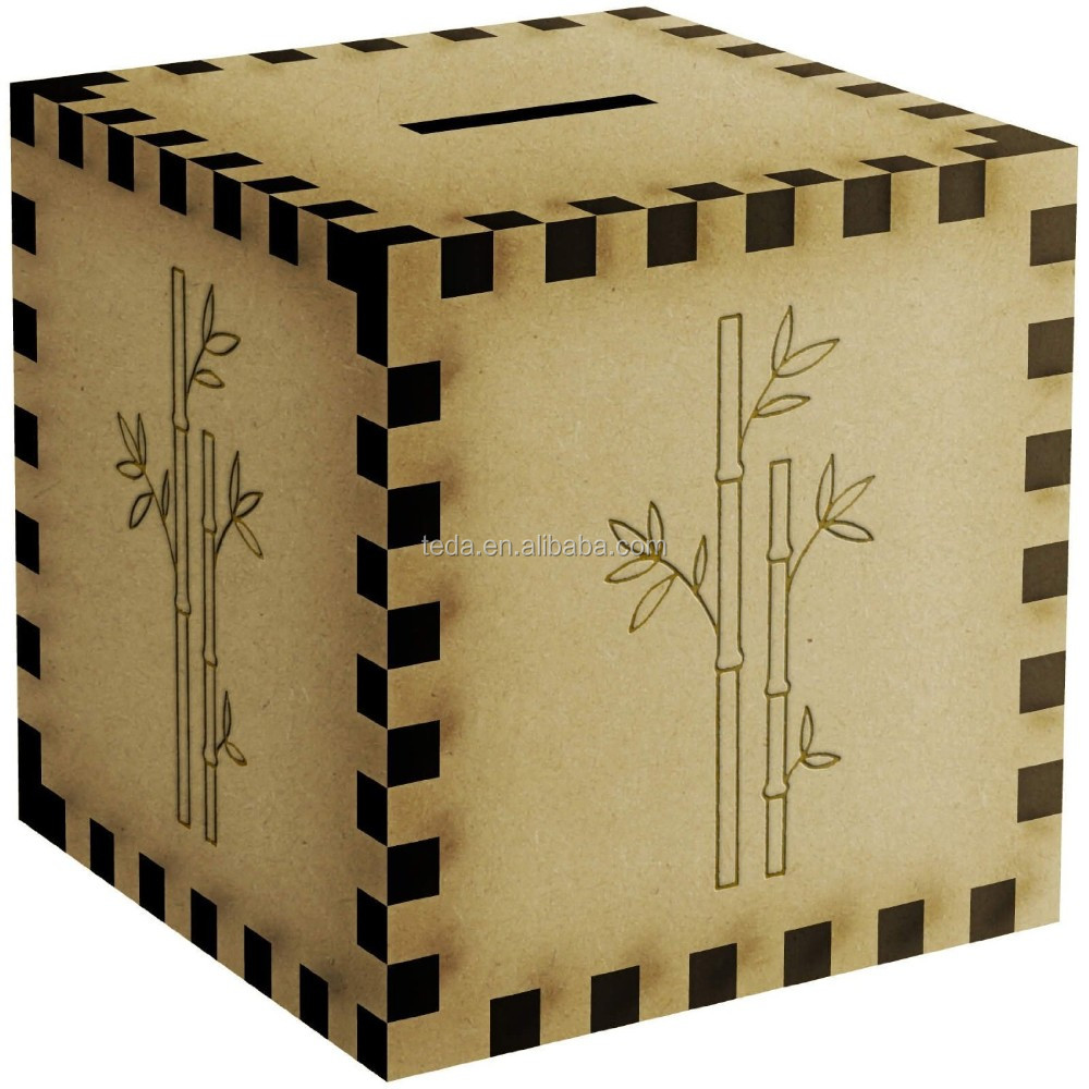 Small wooden boxes craft to decorate