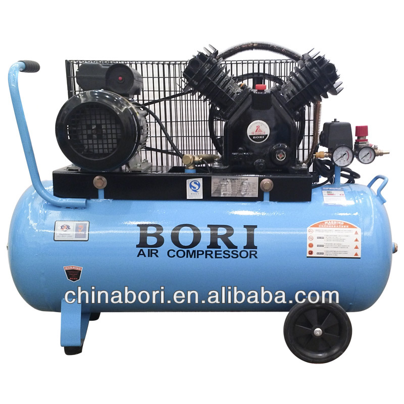 Manufacturing 8.8cfm,100L V-0.25/8 cheap air compressor