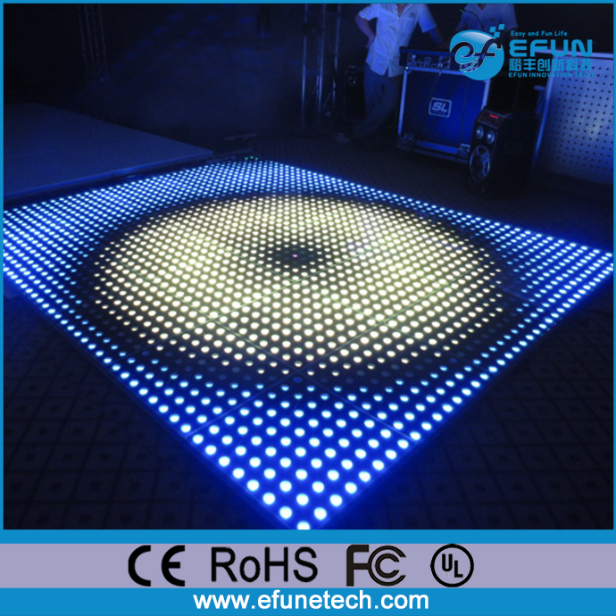 new trend products 2017 portable sensitive rgb color changing illuminated led 3d wedding floors