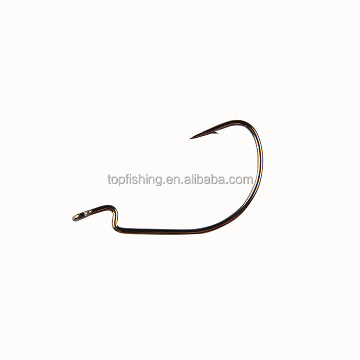 nickle crank hook <strong>P07</strong>-BLN-1 fishing hooks wholesale bulk fishing hooks