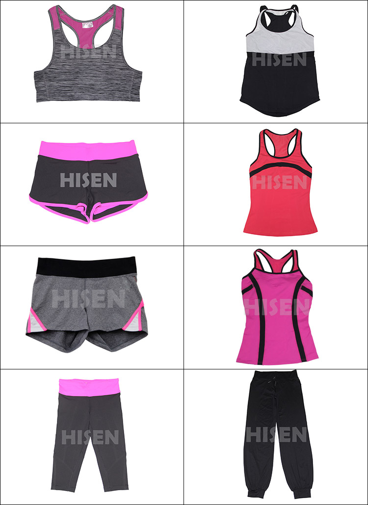 New Design Sexy Athletic Women Active Crivit Sports Wear