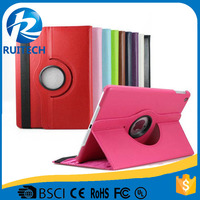New Design Leather Wallet Folio Case For iPad Air 2 Cover