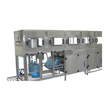 Automatic 20 liter / 5 gallon bottled mineral water filling machine plant