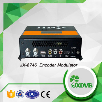 Factory direct supplier timeproof support HD and SD isdb-t encoder modulator