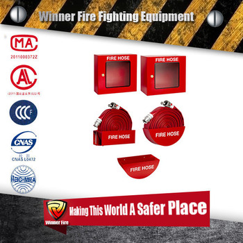 Hot sale 50m fire hose keeper Fire hose cabinet with cradle
