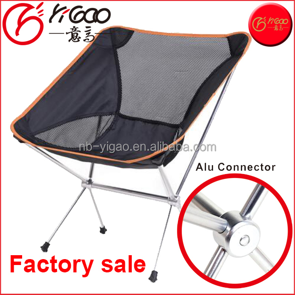 Lightweight 7075 Aluminum Outdoor Folding Camping Chair