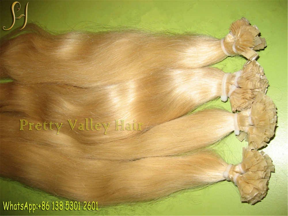 blonde european hair extension