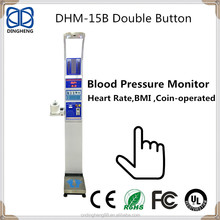 DHM-15B Scales vending machine digital height weight blood pressure health body machine