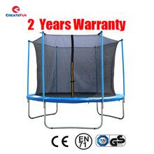 CreateFun 6ft 8ft 10ft 12ft 13ft 14ft 15ft 16ft Cheap Kids Big Folding Spring Outdoor Trampoline CE With Enclosure Safety Net