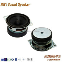 52mm 2Inch 8ohm 3W High Quality 2.1 Multimedia Speaker System for bluetooth speaker