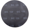 100mm 115mm 125mm 150mm silicon carbide coated high quality fiber disc for wood,steel and metal polishing