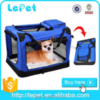 Designer pet carriers/soft portable pet carrier/pet carrier airline approved