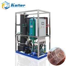 Guangzhou Koller 2 tons commercial tube ice maker machine for human consumption