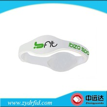 High quality! Bulk cheap silicone wristbands custom rfid silicone wristbands/bracelets for events