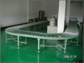curved roller production line,turning roller conveyors