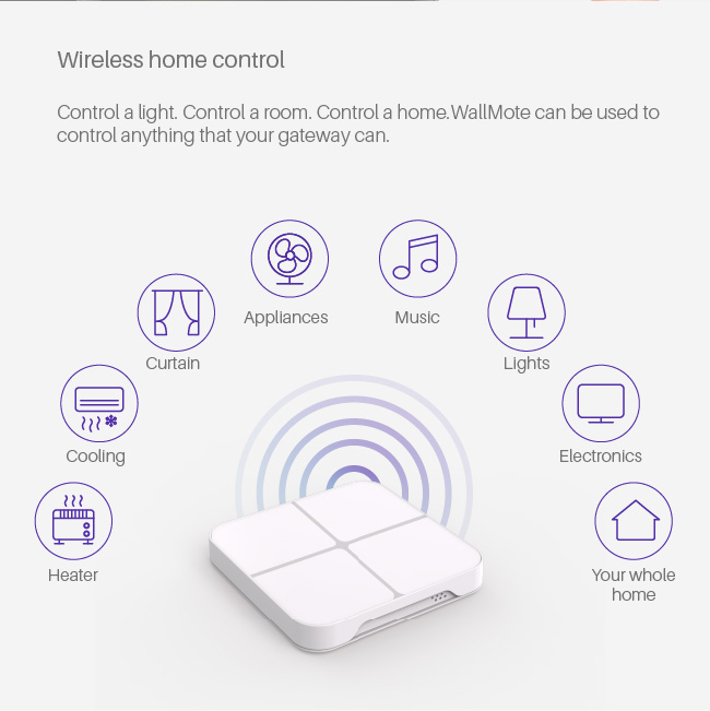 CE ROHS approve Fantem smart home z-wave electric touch wall switch with Alexa voice control