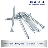 C45 Steel Material hardened Cement Concrete Nails