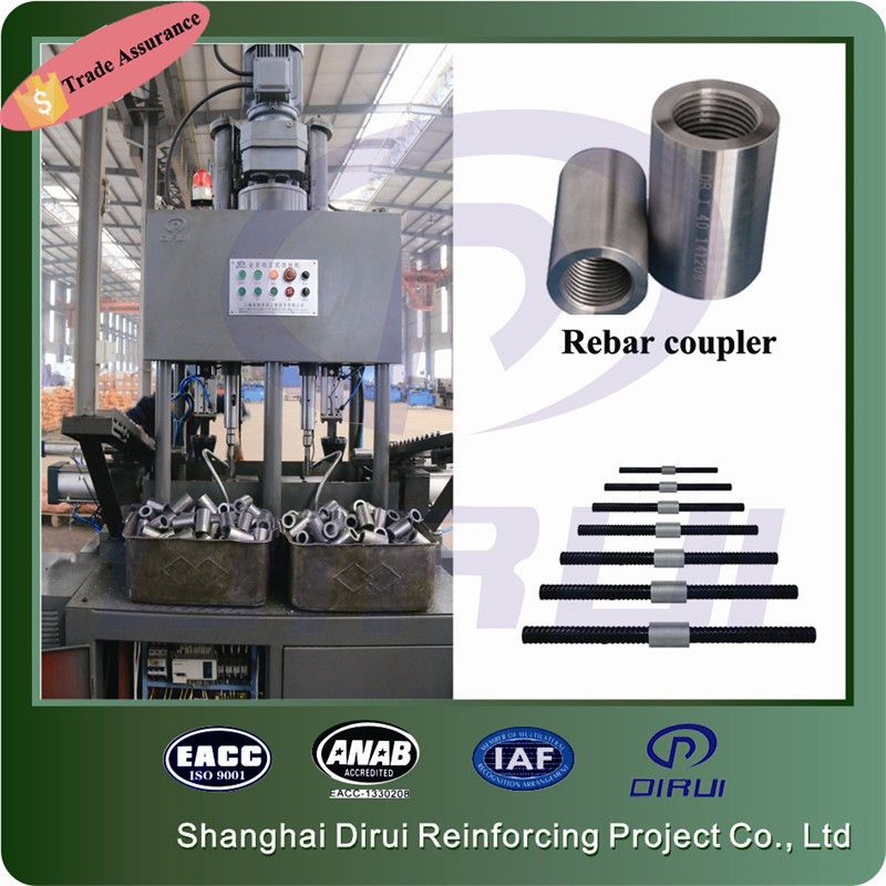DGS-40Z hot selling self tapping screw machine machine rebar coupler making machine with screw tap