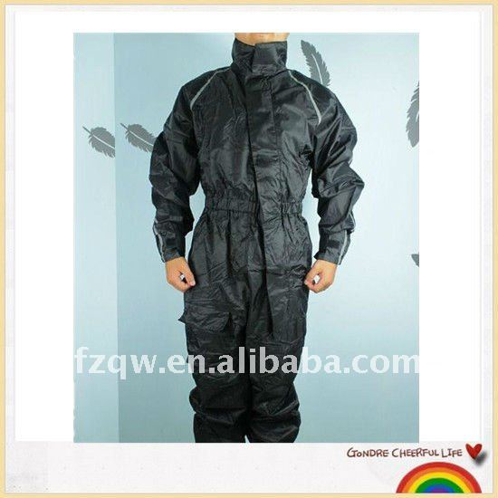 Motorbike coverall rain suit racing wear