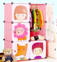SW hot sale plastic storage waterproof baby plastic kids bedroom furniture