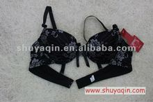 latest design of bra with printing lace