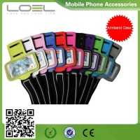 Hot Selling Wholesale China Cheap Gym Waterproof Sports Armband Case for iPhone6 , Mobile Phone Armband Case