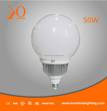 Energy Saving 50W IP65 LED High Power Bulbs---Globe PC Cover 2700K-6500K