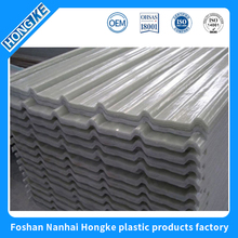 Specifically designed wearing resistant clear fiberglass roofing sheet