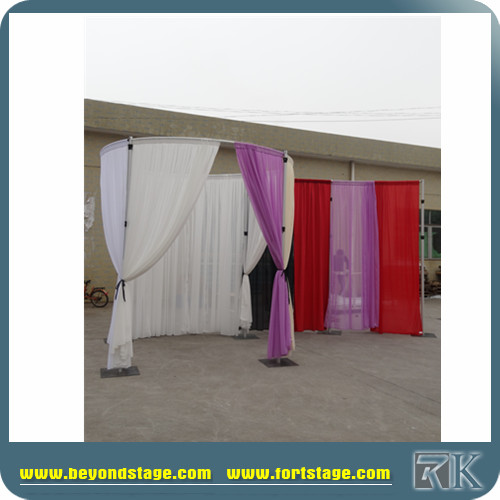 3 year warranty Pipe & drape for trade show displays or wedding back drop