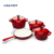 High quality die cast iron nonstick cookware set