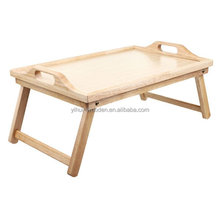 wooden folded laptop bed computer table For Laptop PC Tablet