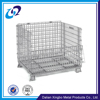 Manufacturer supplier low price powder coated foldable wire mesh stackable steel cages