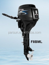 4-stroke 8hp outboard motor / electric start / remote control / long shaft / F8FWL / PARSUN