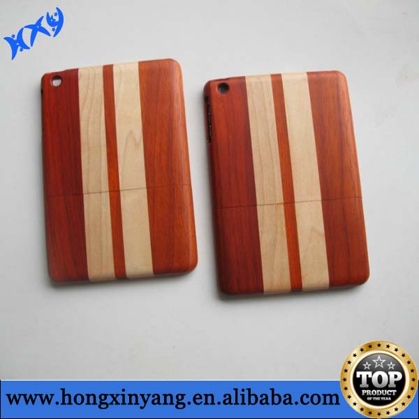 for iPad mini bamboo case,bamboo wood case for iPad