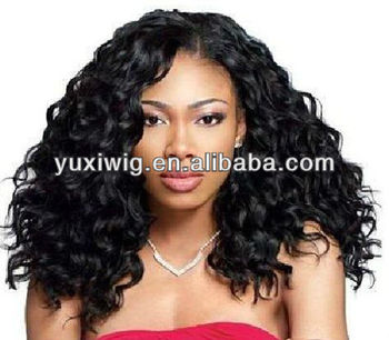 factory wholesale tangle free no shedding lace front wig