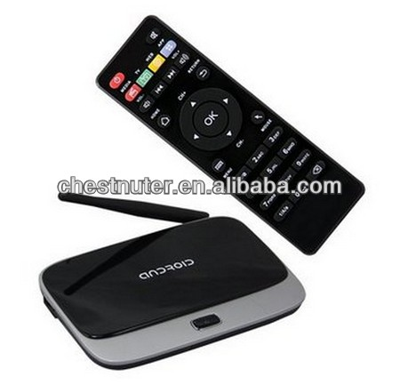 Hot-selling EKB311 best-seller Quad Core Android 4.2 RK3188 CS918 Google HDMI Mini TV Box Media Player Display 2GB/8G