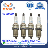 For honda spare parts guangzhou IZFR6K11NS 12290-R62-H01 wholesale price sell used spark plugs
