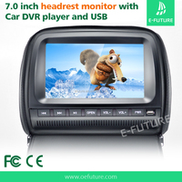 7 inch car dvd player headrest monitor for taxi