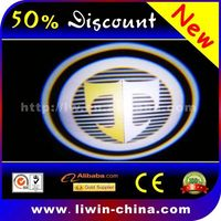 popular products auto led led dual-color car logo led car logo lighting for BLUEBIRD car engine automobiles
