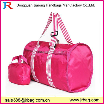 Easy to carry onboard foldable travel adventure bag holdall