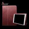 Retro split leather book case for iPad Air 2 smart cover case