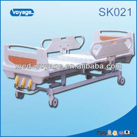 SK021 Hot Selling Three Cranks Hospital Bed price