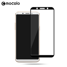 Mocolo Wholesale Crystal 0.33mm Tempered Glass Anti Scratch Screen Protector For OPPO F5