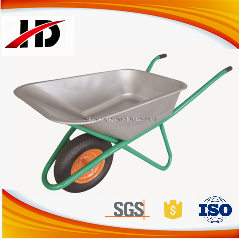 Industrial Heavy Duty Steel Construction and building Wheelbarrow 160KG for sale