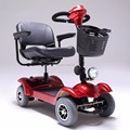 Folding 4 wheel mobility scooters electric handicapped scooter for elders