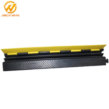 Good Quality 2 Channel Rubber Cable Ramp Protector For Warehouse