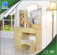 living room furniture mdf wrought iron dressing table with mirror