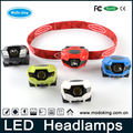 Hot Sale Long Distance 1watt led USB Rechargeable High Power led headlamp powerful