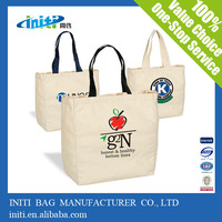 High Quality Wholesale Recyclable Plain Cotton Tote Bag