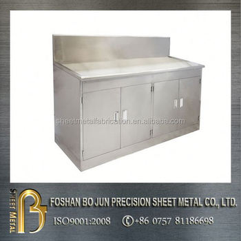 Custom stainless steel storage cabinet with door for Custom stainless steel cabinet doors